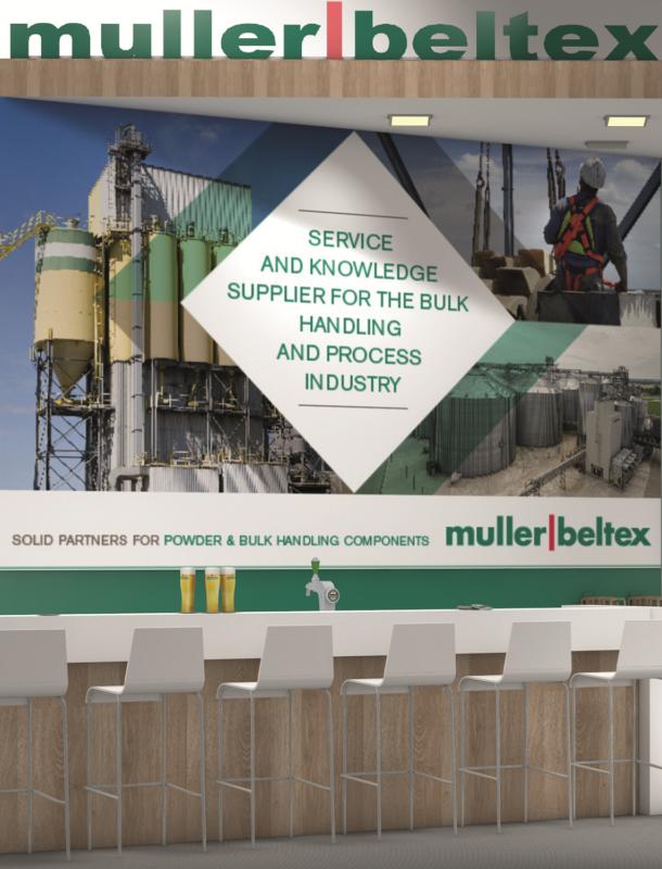 MullerBeltex Victam-stand